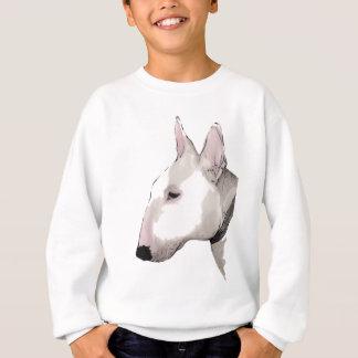 Bull-terrier anglais sweatshirt