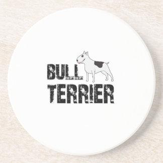 Bull-terrier Dessous De Verre