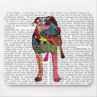 Bull-terrier du Staffordshire - patchwork Tapis De Souris