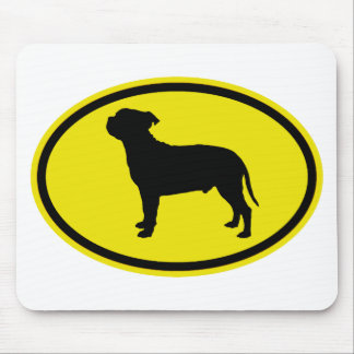 Bull-terrier du Staffordshire Tapis De Souris