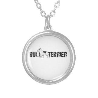 Bull-terrier Pendentif Rond