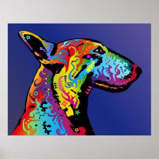 Bull-terrier Posters