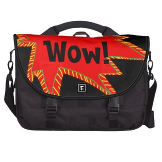 Bulle comique 2 de mot de superhéros d'art de sacoches ordinateur portable
