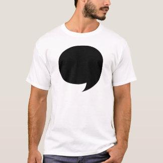 Bulle comique de la parole t-shirt