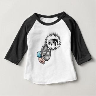 Bulle de la parole de corne de brume de bande t-shirt pour bébé