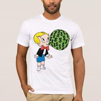 Bulle de soufflement riche de Richie - couleur T-shirt