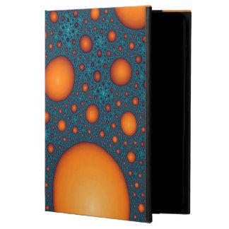 Bulles oranges coque powis iPad air 2