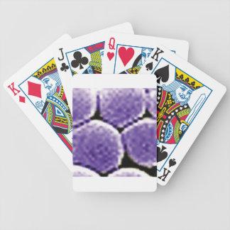 bulles pourpres jeu de cartes