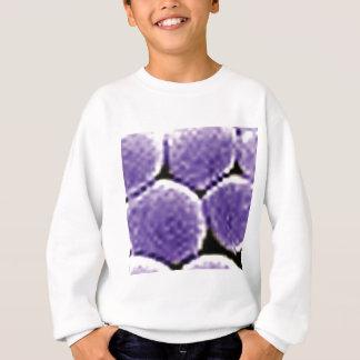bulles pourpres sweatshirt