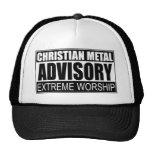 Bulletin de renseignements chrétien en métal… casquette de camionneur