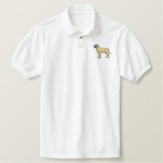 Bullmastiff Polo Brodé