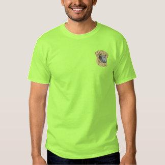 Bullmastiff T-shirt Brodé