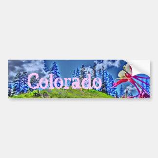 Bumpersticker artistique colombin du Colorado Autocollant De Voiture