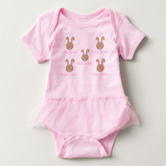 Bunbun le lapin - combinaison de tutu de bébé body