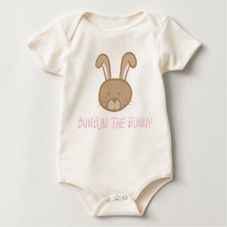 Bunbun le lapin - combinaison naturelle de bébé body