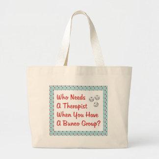 bunco qui a besoin d'un thérapeute grand sac