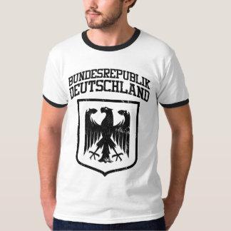 Bundesrepublik Deutschland/Allemand Eagle T-shirt
