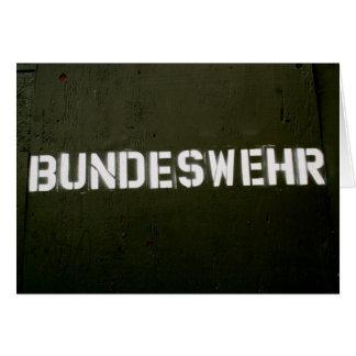 Bundeswehr Carte De Vœux