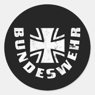 Bundeswehr Deutschland Luftwaffe l Armée de l Ai Autocollants Ronds
