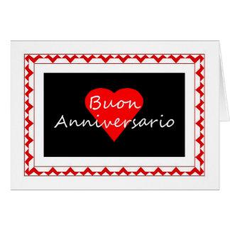 Buon Anniversario - anniversaire heureux dans Carte De Vœux