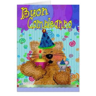 Buon Compleanno Carte De Vœux