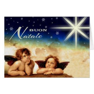 Buon Natale. Cartes de Noël italiennes de