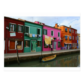 Burano, Italie Carte Postale