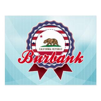 Burbank, CA Cartes Postales
