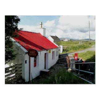 Bureau de poste, Balallan, île de Lewis, Ecosse Carte Postale