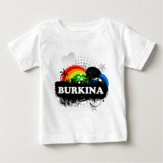 Burkina fruité mignon t-shirt pour bébé