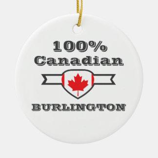 Burlington 100% ornement rond en céramique