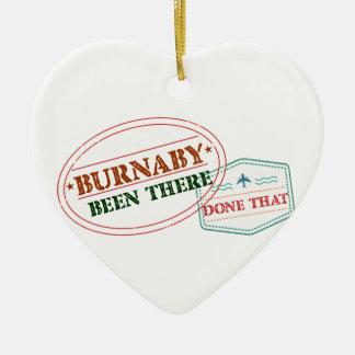 Burnaby là fait cela ornement cœur en céramique