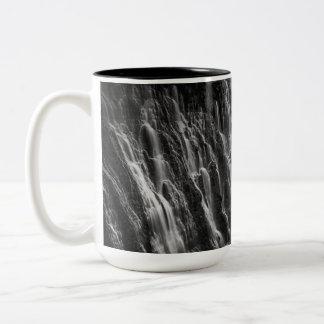 Burney tombe en noir et blanc tasse 2 couleurs