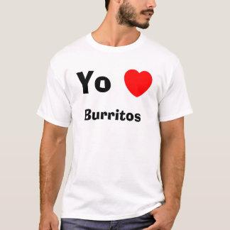 Burritos de coeur de Yo T-shirt