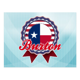 Burton, TX Carte Postale