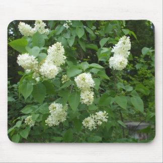Bush lilas blanc tapis de souris