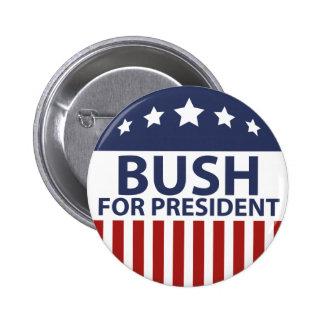 Bush pour le président badge