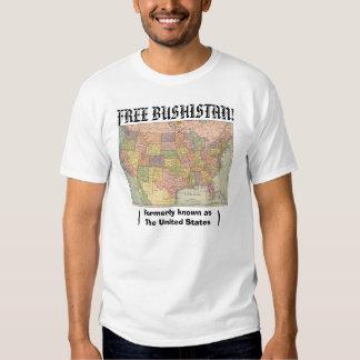 Bushistan libre, autrefois connu sous le nom de t-shirts
