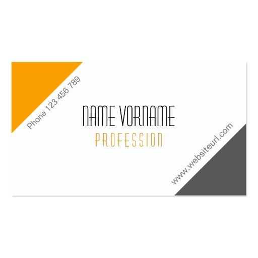 Business Modèle De Carte De Visite