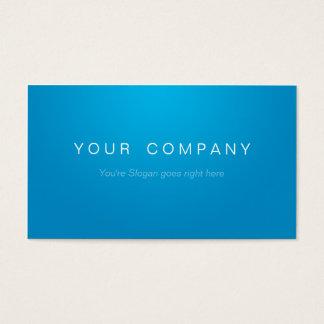 Business cartes de visite Blue/White professionnel