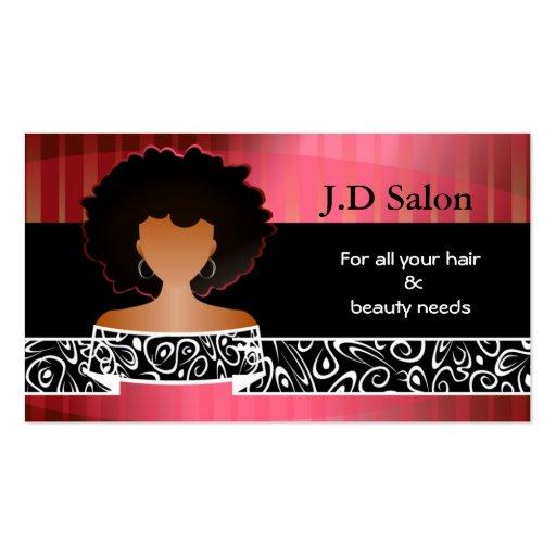 Businesscards de salon de coiffure cartes de visite for R b salon coimbatore