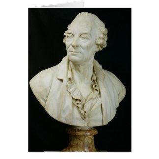 Buste de compte de George Louis Leclerc de Buffon Cartes De Vœux