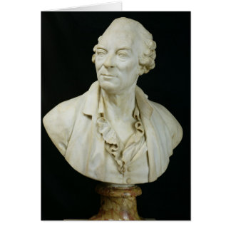 Buste de compte de George Louis Leclerc de Buffon Carte De Vœux