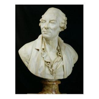 Buste de compte de George Louis Leclerc de Buffon Carte Postale