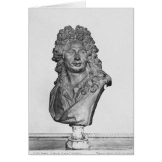Buste de Gerard Audran Cartes