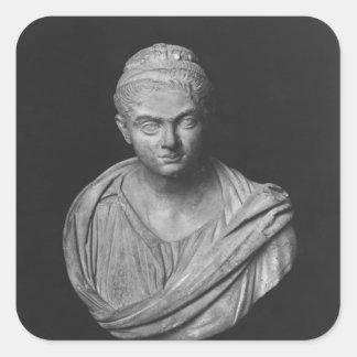 Buste de Julia Mamaea Stickers Carrés
