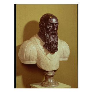 Buste de portrait en Jean de Bologna 1608 Carte Postale