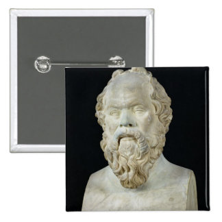 Buste de Socrates Badge