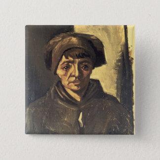 Buste de Vincent van Gogh | d'un paysan, 1884 Badges