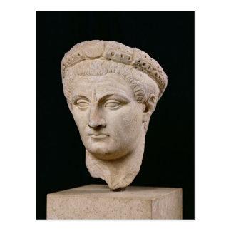 Buste d'empereur Claudius de Thasos Carte Postale